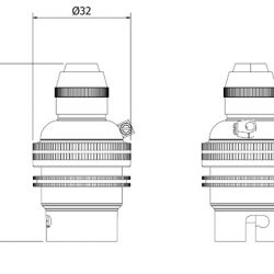 Brass-Pendant-Lampholder-Bayonet-B22-fitting