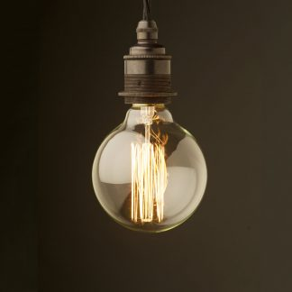 Edison style light bulb E27 Bronze fitting