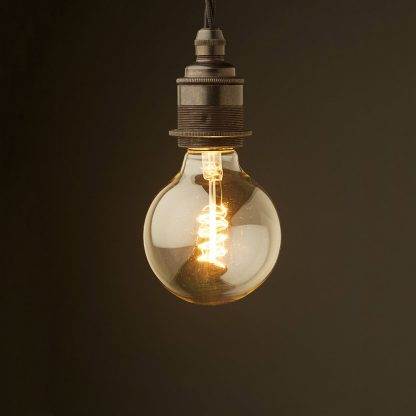Edison style light bulb E27 Bronze fitting