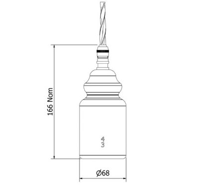 AGM Insulator No430 Clear SES pendant light