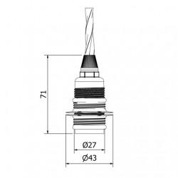 Brass-Plate-Lampholder-Edison-E14-fitting