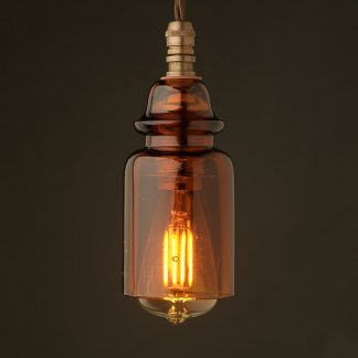Insulator No430 Amber SES pendant light