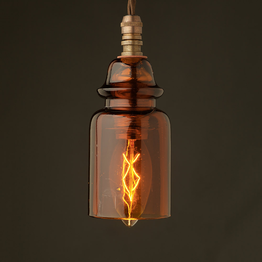 Insulator no430 amber ses pendant light for Insulator pendant light