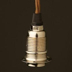 Nickel-E14-lampholder-1shade-cordgrip