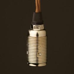 Nickel-E14-lampholder-noshade-cordgrip