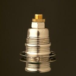 Nickel-E14-lampholder-shade