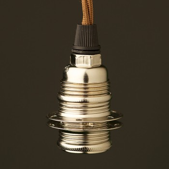Nickle-E14-lampholder-shade-cordgrip