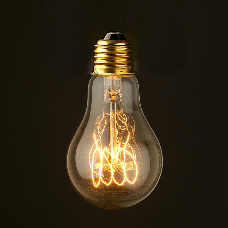 Edison Smooth Round Filament Bulb