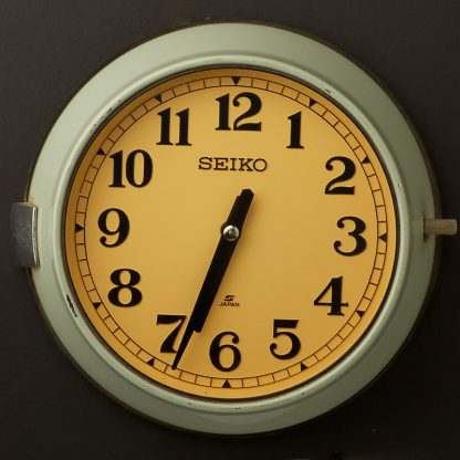 Vintage Ship's Seiko Wall Clock
