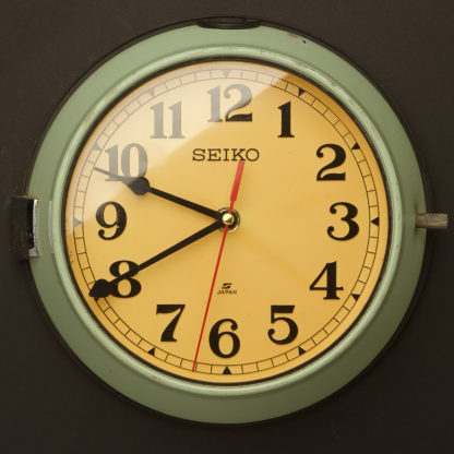 Vintage Ship's Seiko Wall Clock 3 hands