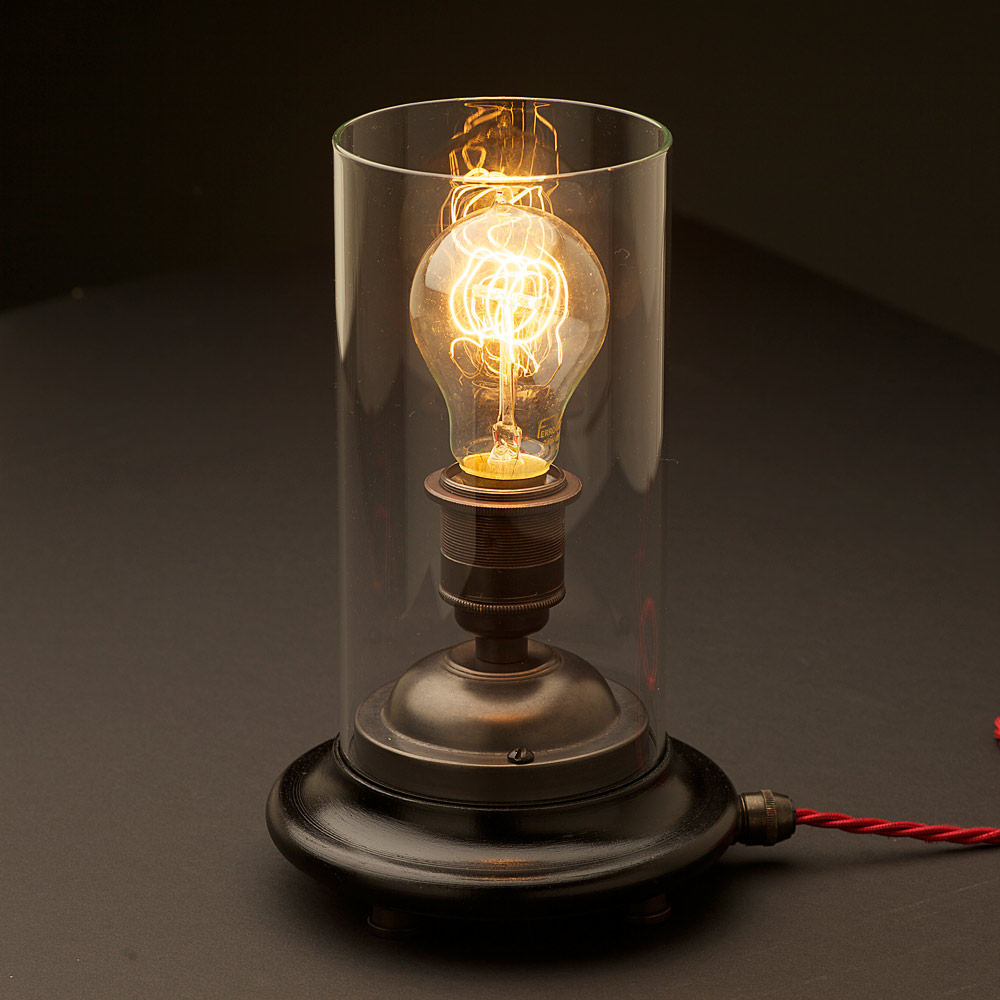 Edison Light Bulb Table Lamp Viewing Gallery