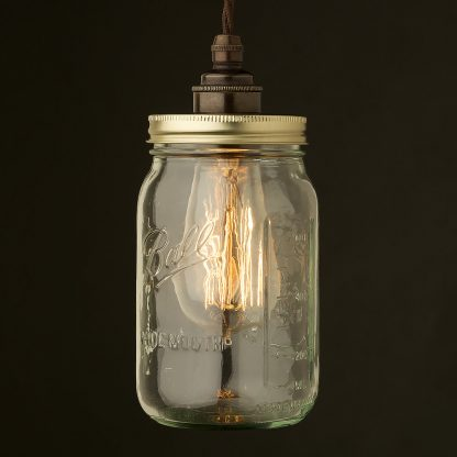 Widemouth Preserving Jar E27 pendant