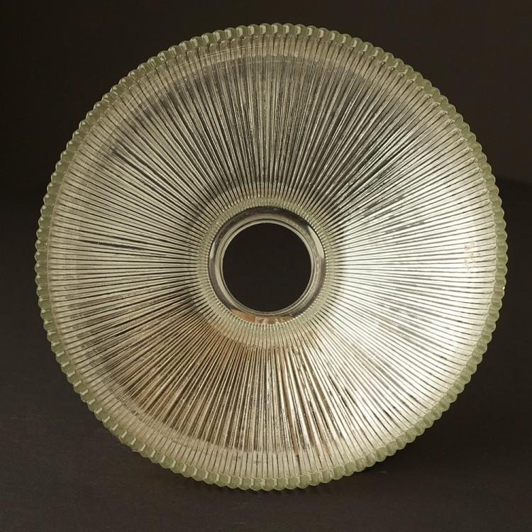 Holophane Glass Dish Light Shade