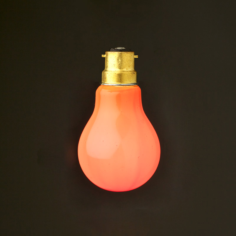 Standard round Colored Festoon bulb