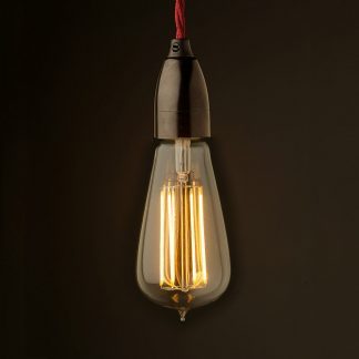 Edison style light bulb Contemporary Bakelite fitting