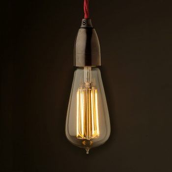 Bakelite-Contemporary-Lampholder-Edison-E27-fitting-Lantern-filament-LED