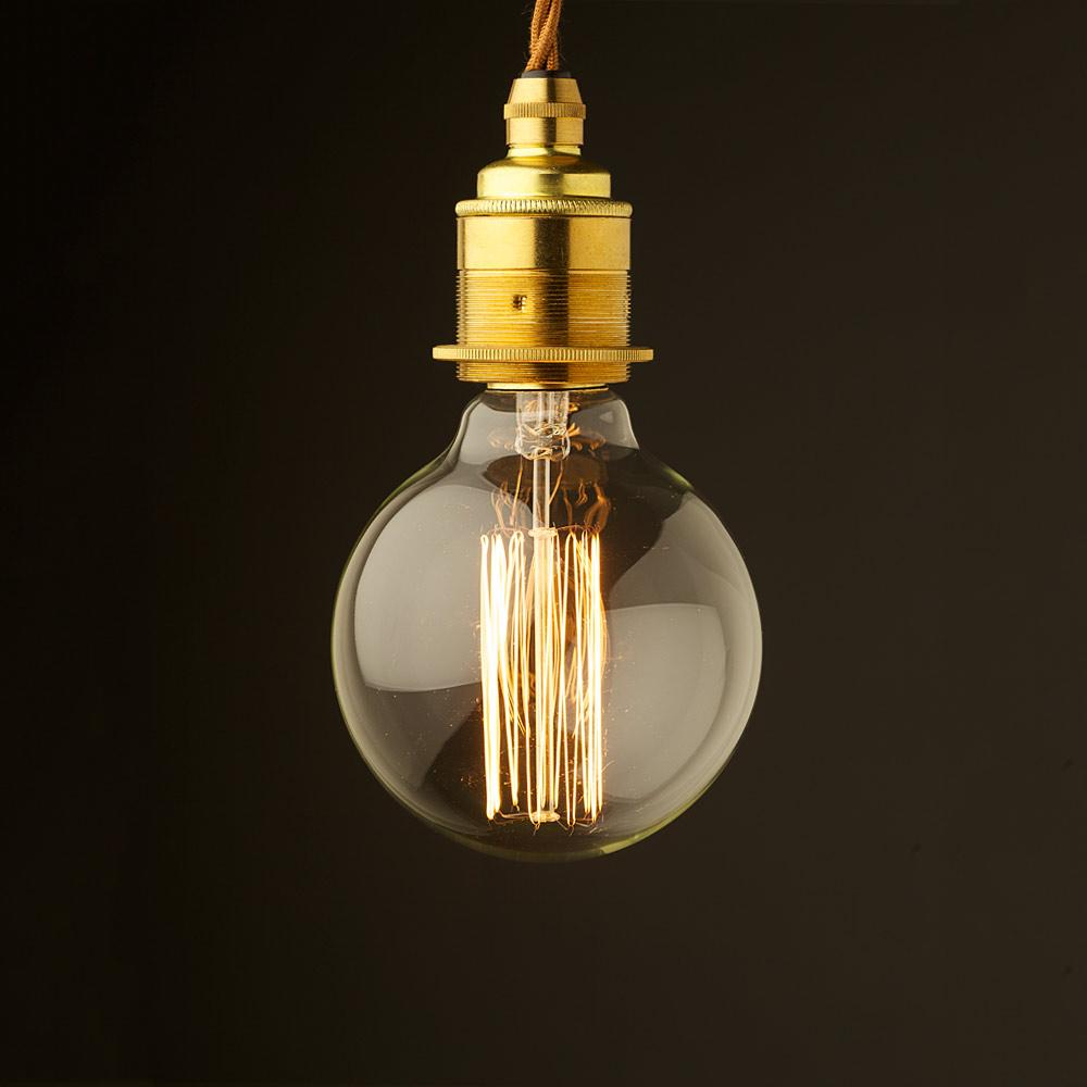 Edison style light bulb e27 new brass fitting