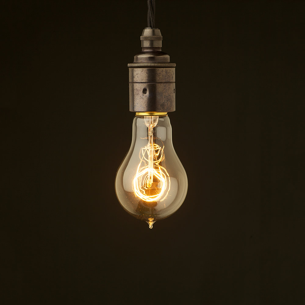 thomas edison first light bulb edison style light bulb. Black Bedroom Furniture Sets. Home Design Ideas