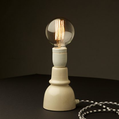 Vintage Ceramic Insulator table lamp