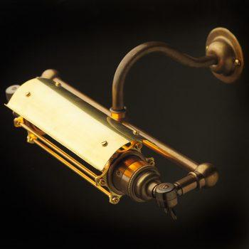 Vintage-Brass-Steampunk-picture-light