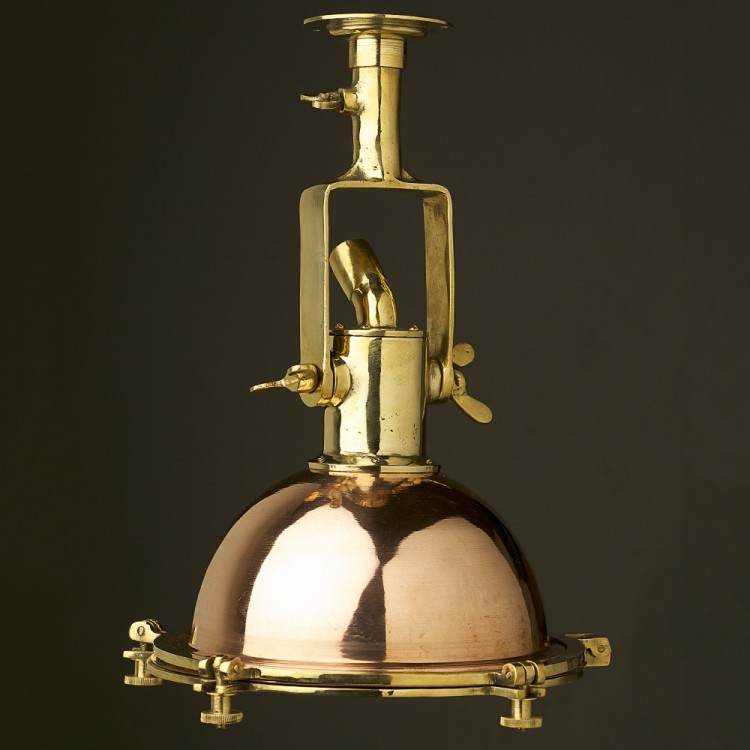 Vintage Brass small ships deck light