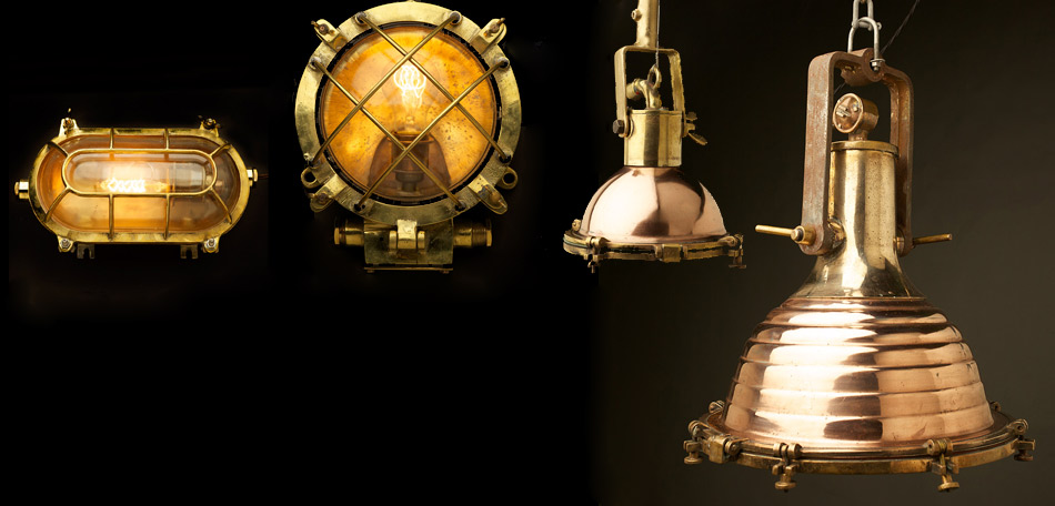 Vintage-brass-ships-lighting