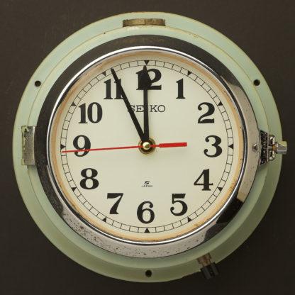 Vintage ships seiko wall clock