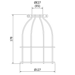 Light-bulb-cage-fitting