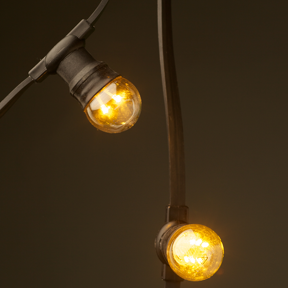 Low Voltage G45 Led Festoon Kit At 50cm Intervals