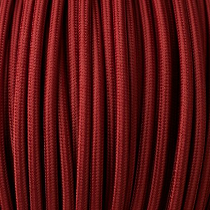 Burgundy Pulley cable