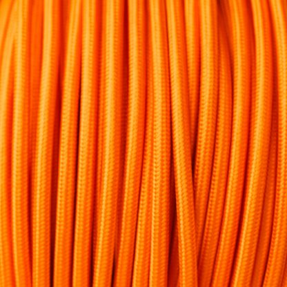 Orange Pulley cable