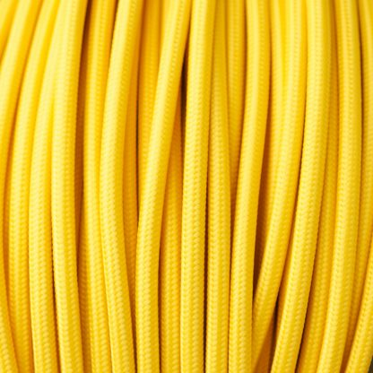 Yellow Pulley cable