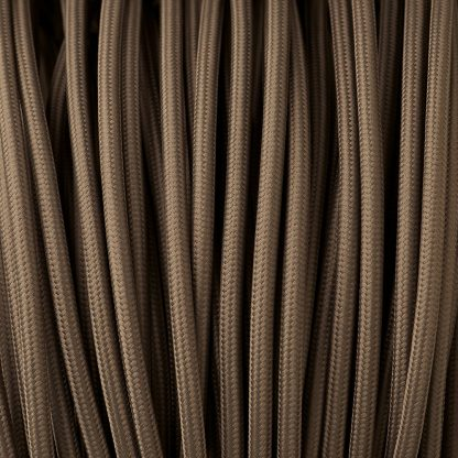 Dark grey pulley cable