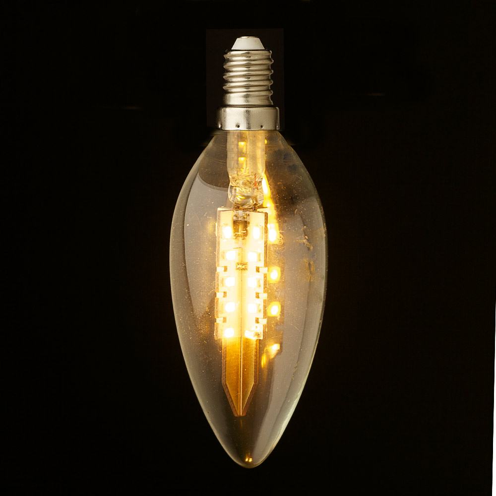 Candle Led Light Bulbs 3 Watt Dimmable Filament Led E27 Candle Bulb 3w Led Candle Bulb Light