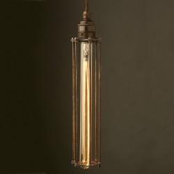 Bronze-Long-Tube-cage-pendant-28-bulb