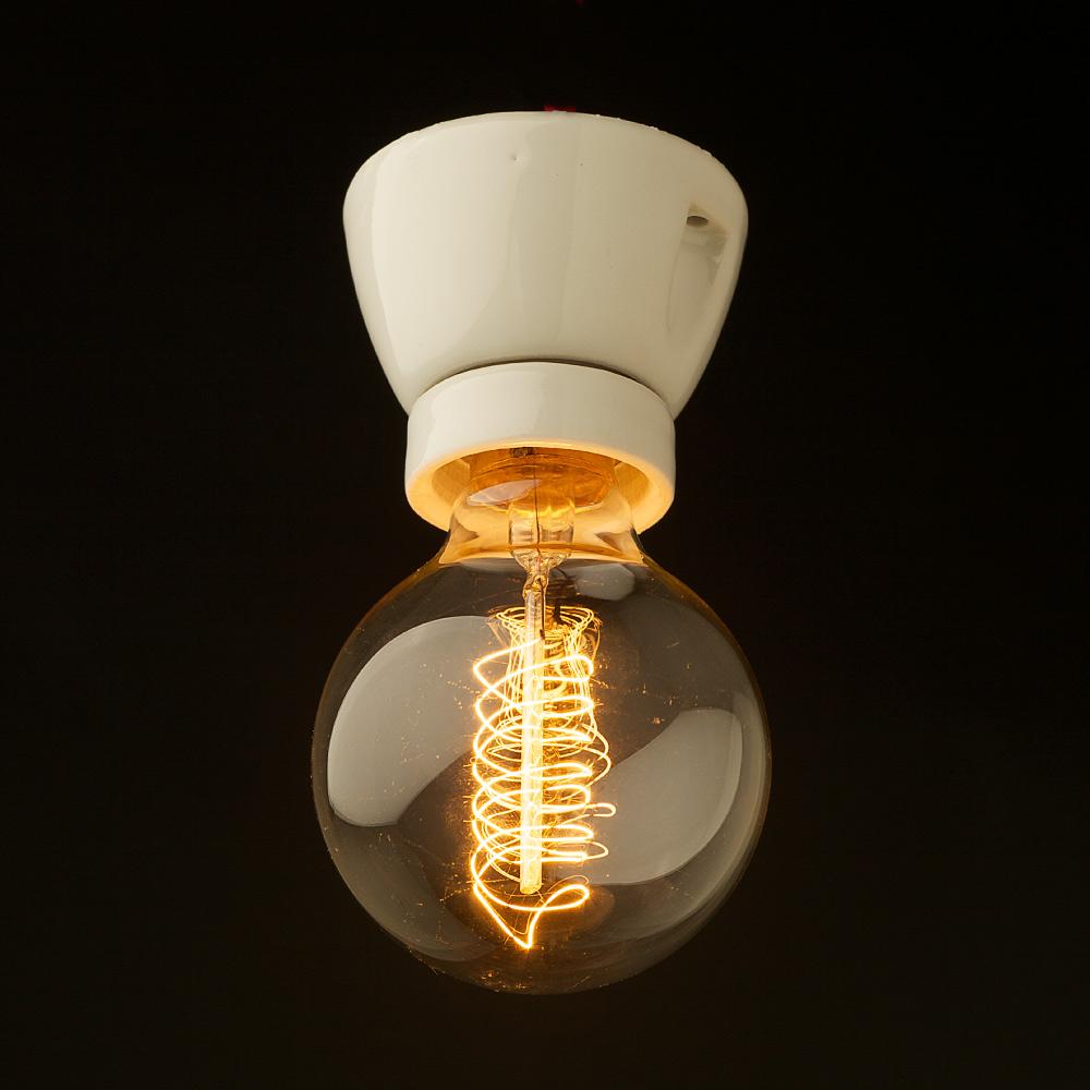 Complete Light Fittings Edison Globes Pty Ltd Single Lamp Holder E27 Ceiling Lights