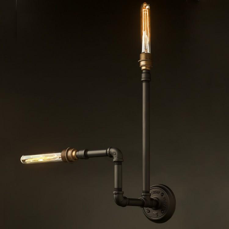 Plumbing Pipe Wall Lamp E27