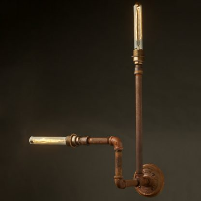 Plumbing Pipe Wall Lamp E27