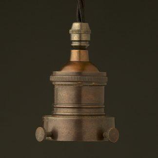 Bronze 2.25 inch Cast Gallery Lampholder