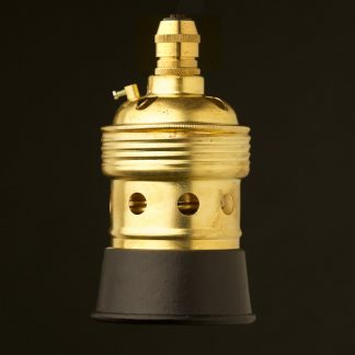 New Brass Lampholder Edison E40 fitting