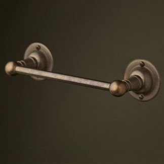 Bronze hand towel rail