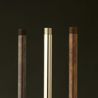 Threaded brass tube half inch