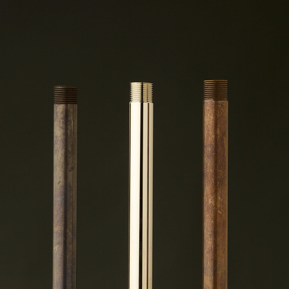 Threaded Brass Tube Half Inch