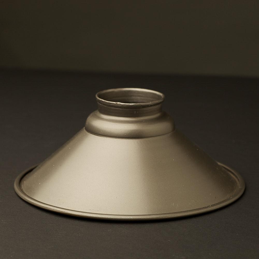 Rustic Steel 2 25 Gallery Type Light Shade 200mm