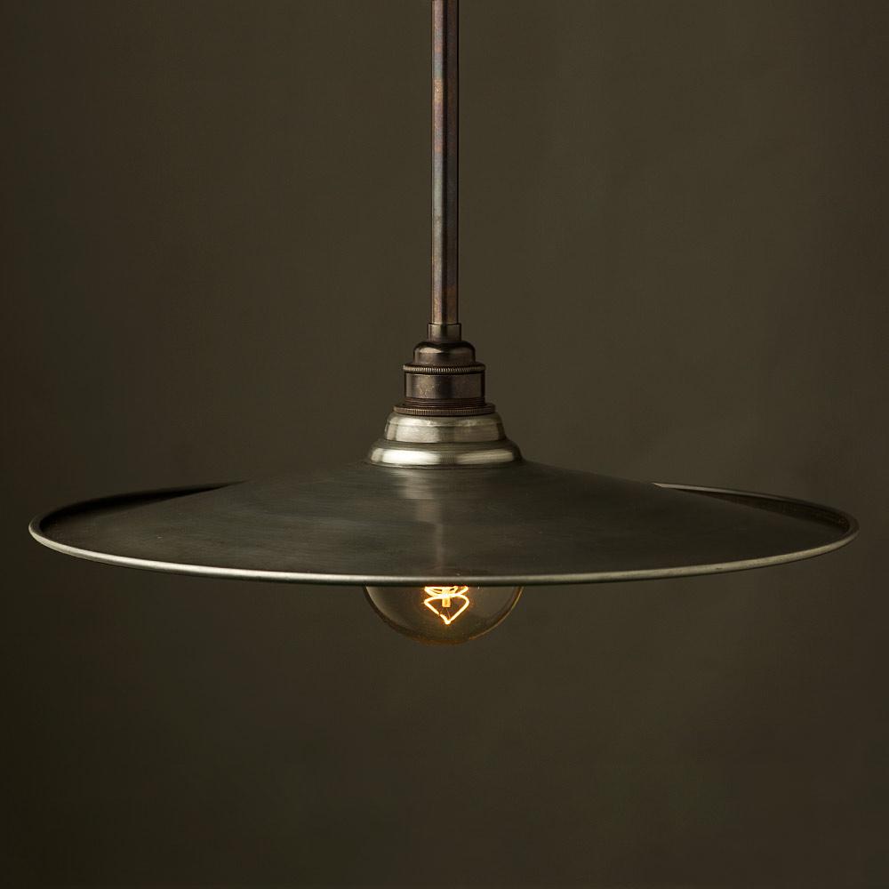 Single Rod Bronze Lamp Pendant