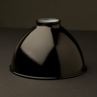 Black 7 inch Dome Light Shade