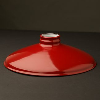 Red 10 inch Coolie Light Shade