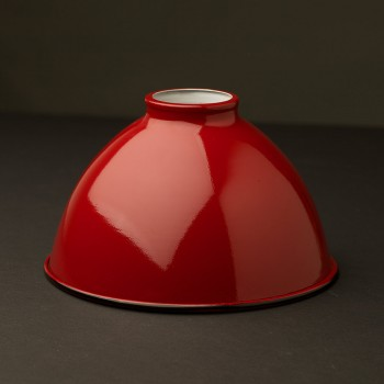 Red-dome-enamelled-shade