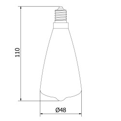 Vintage-Small-Edison-Teardrop-filament-bulb-E14