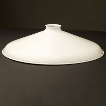 White 14 inch Coolie Light Shade